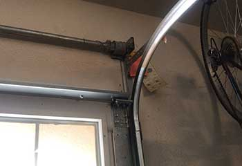Track Replacement Project | Garage Door Repair Buffalo Grove, IL